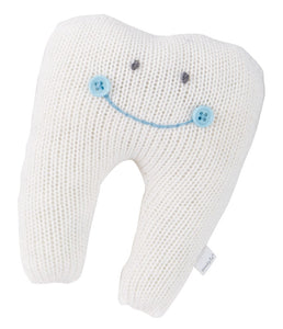 Ivory Tooth Pillow Blue