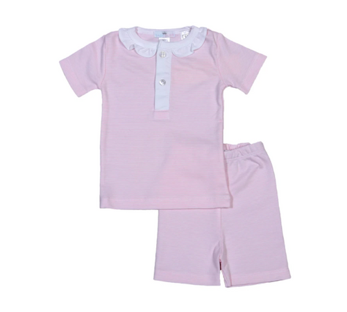 Pink Stripes Loungewear Set