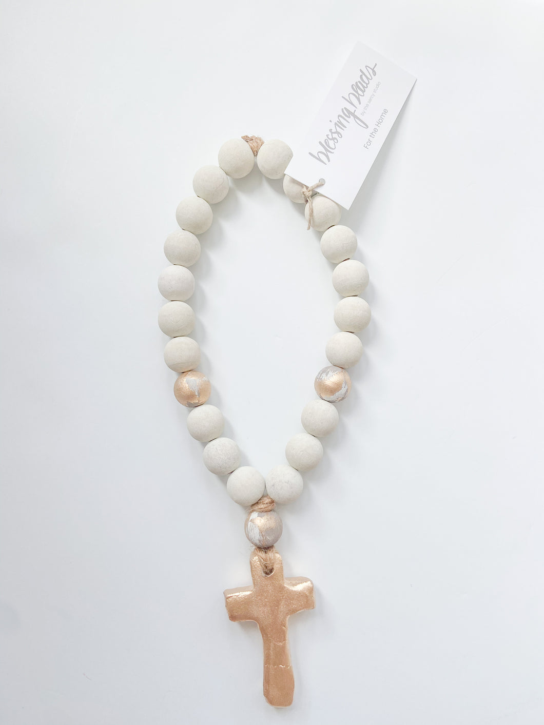 Cecilia Small Cross Blessing Bead