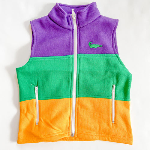 Mardi Gras Traditional Vest