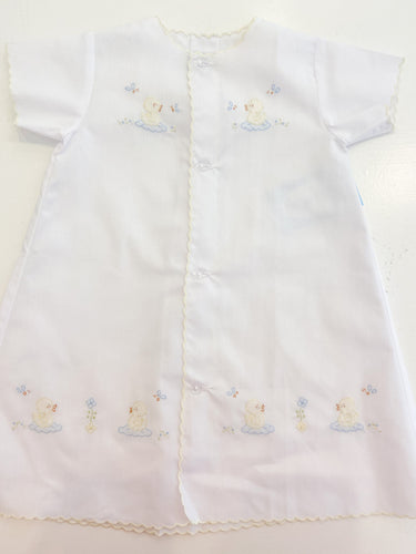 White Ducky Day Gown