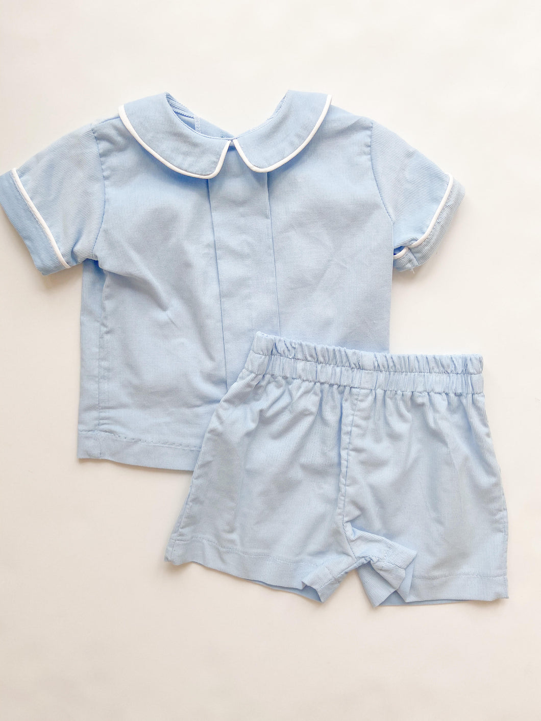Boys Corduroy Short Set