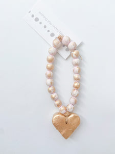 Bitty Blessing Bead Pink