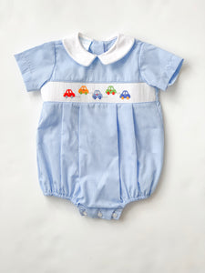 Cars Gingham Bubble-infant