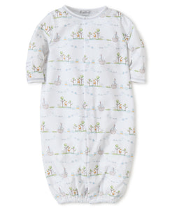 Noah's Print Converter Gown Blue -infant