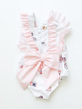 Load image into Gallery viewer, Paris Swimsuit Ruffle- Infant