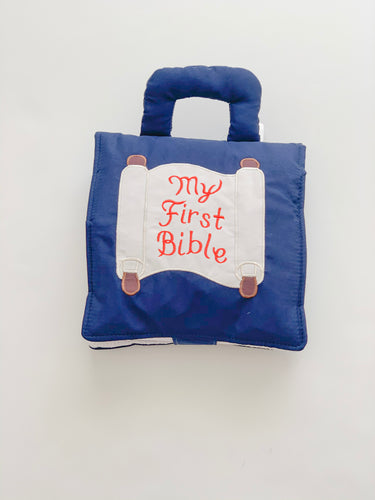 My First Bible-Book - navy