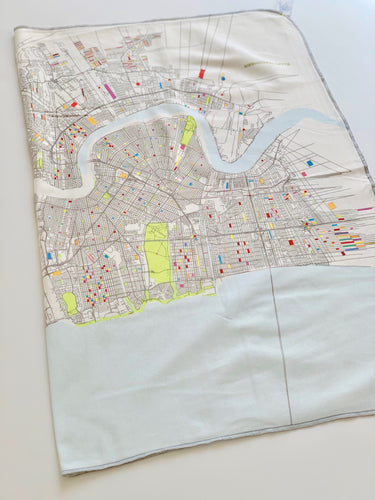 Nola Map Blanket