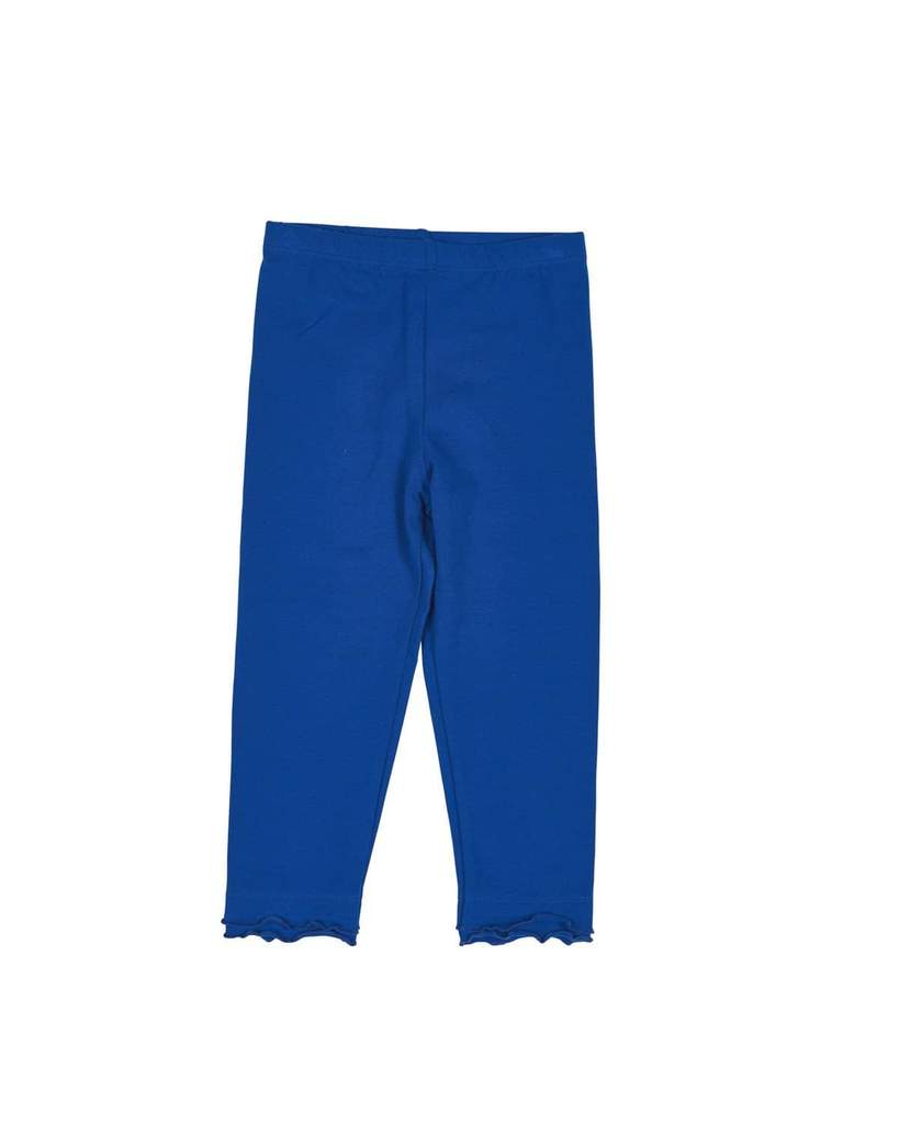 Royal Blue Ruffle Legging - Toddler Girls
