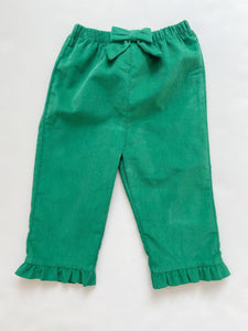 Green Cord Girl Pant 326PG - Toddler Girl