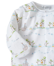 Load image into Gallery viewer, Noah's Print Converter Gown Blue -infant