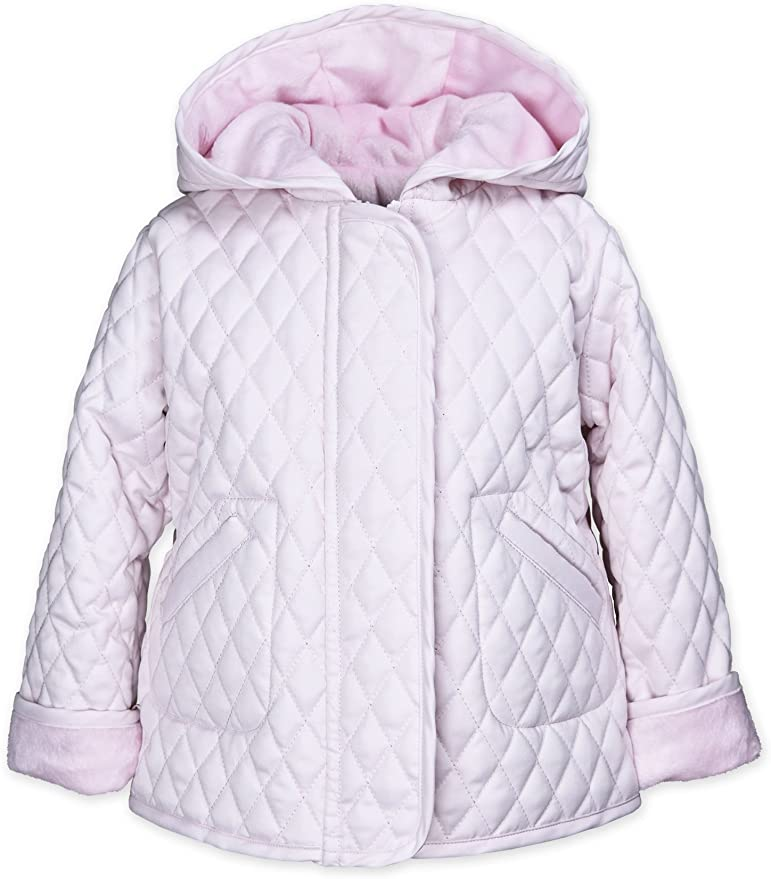 Pink Hooded Barn Jackets - Toddler Girls