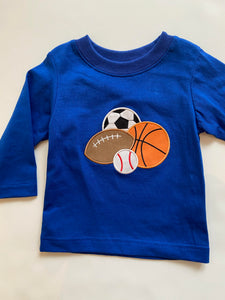 Sports Applique Tee - Toddler Boys