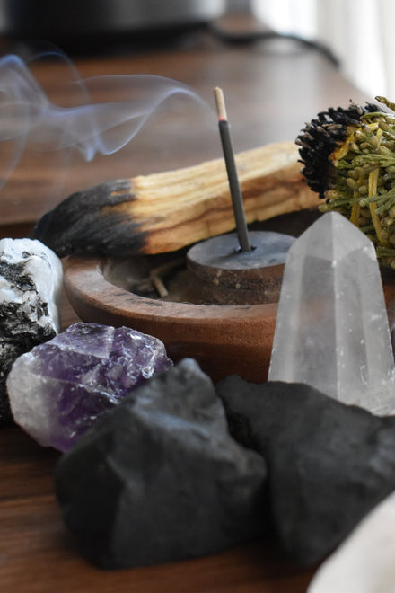 Incense & Crystals