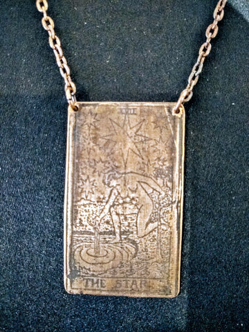 Star Tarot Necklace from Swamp Swag Creations