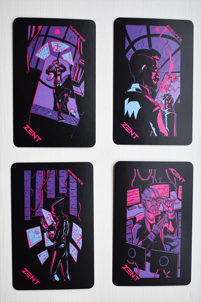 Neon Moon Pocket Tarot Deck