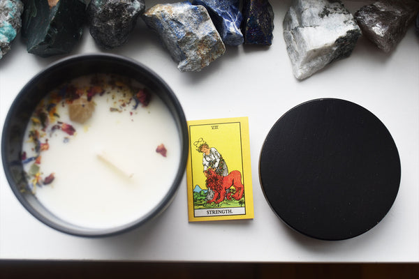 Strength - Tarot Candle - Ritual PNW