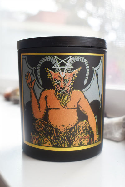 The Devil - Tarot Candle - Ritual PNW