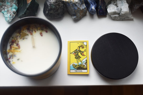 The Fool - Tarot Candle - Ritual PNW