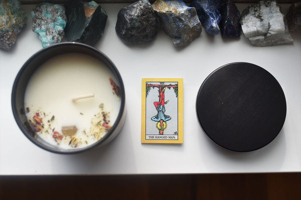 The Hanged Man - Tarot Candle - Ritual PNW