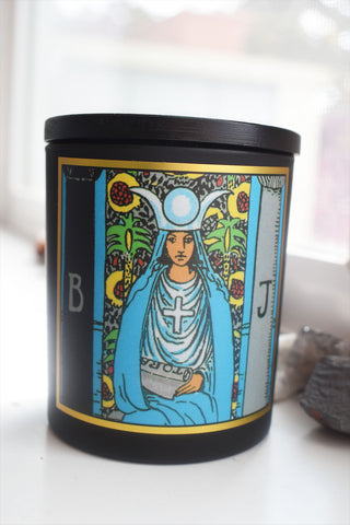 The High Priestess Tarot Candle by Magic Fairy