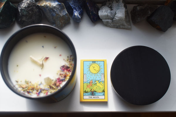 The Moon - Tarot Candle