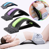 ACTIV BACK Lumbar Traction Stretching Device Spine Pain Relief Back Massage Board Prevention Lumbar Disc Herniation Brace