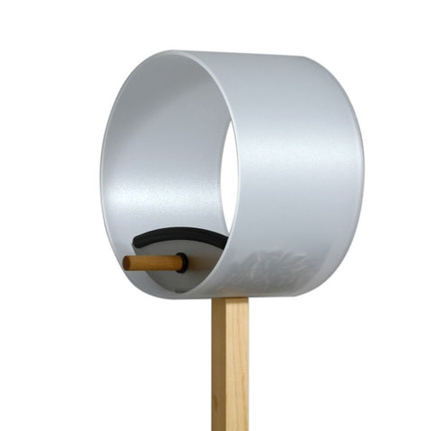 Pick.up Bird Feeder - Modern Bird House - Cross angle view