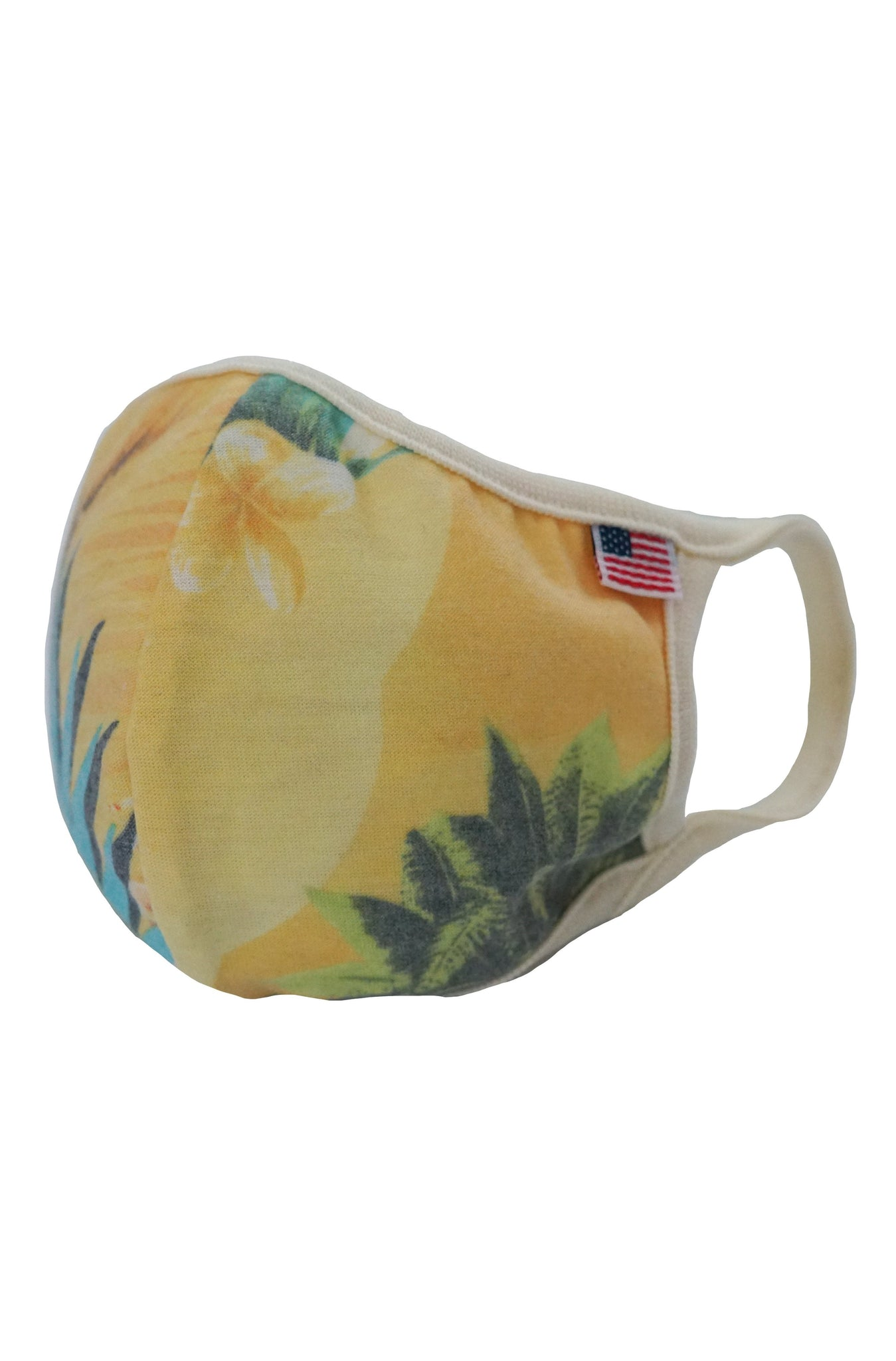 Aloha Print Reusable Double Layer Cotton Mask - MolaInc