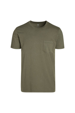 WS Mens S/S Combed Cotton Pocket Crew Tee - MolaInc