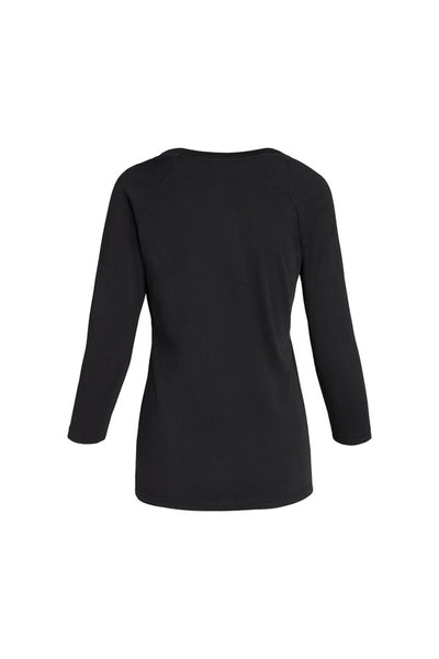 S/S WOMENS PIMA COTTON 3/4 SLEEVE SCOOP NECK - MolaInc
