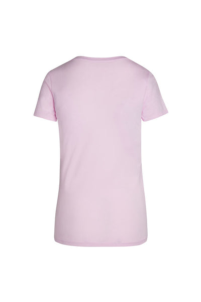 WOMENS S/S COMBED COTTON V NECK TEE - MolaInc