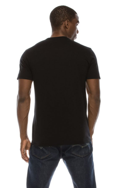 Mens S/S Combed Cotton Crew Neck Tee - MolaInc
