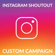 Load image into Gallery viewer, Instagram: Growth Package (Organic Through Shoutouts Giveaways)
