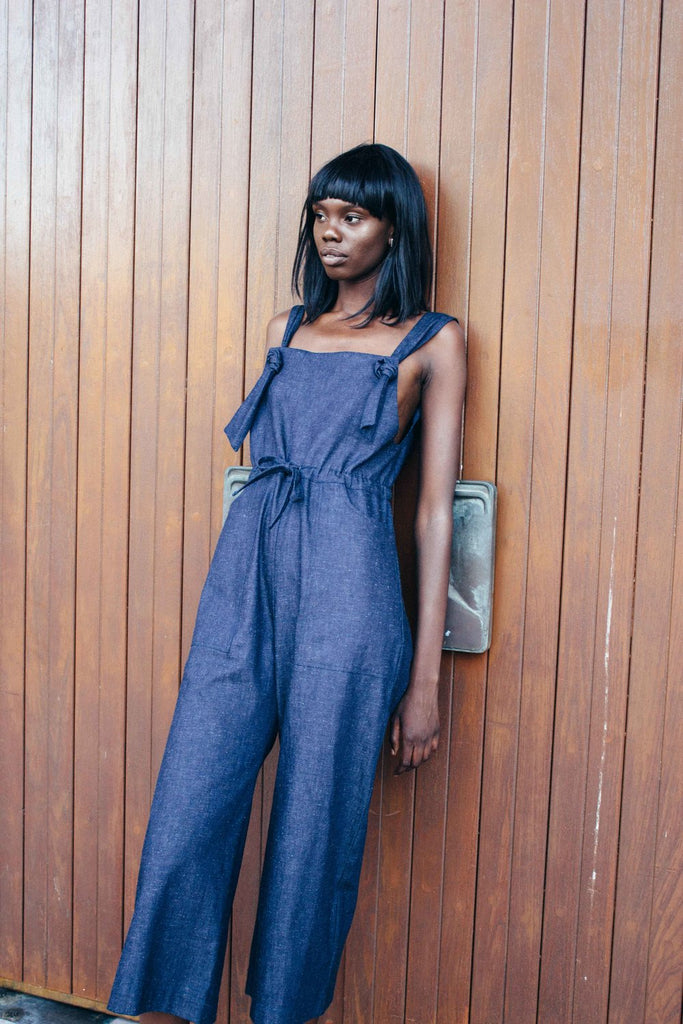 Eva Jumpsuit - Denim