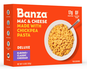 Banza deluxe mac and chesse