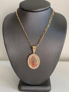 LADY OF GUADALUPE NECKLACE