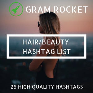 Hair Hashtag List