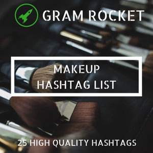 Makeup Hashtag List