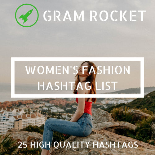 Women's Fashion Hashtag List