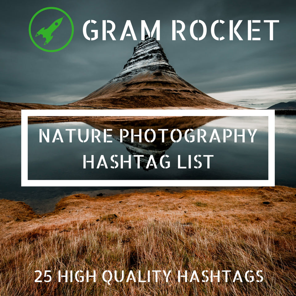 Nature Photography Hashtag List