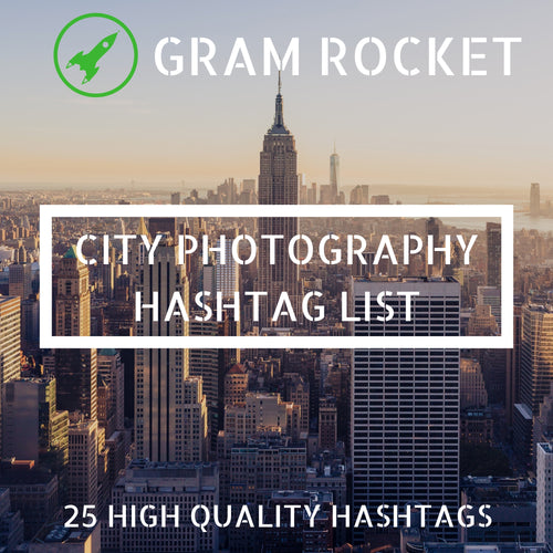City Photography Hashtag List
