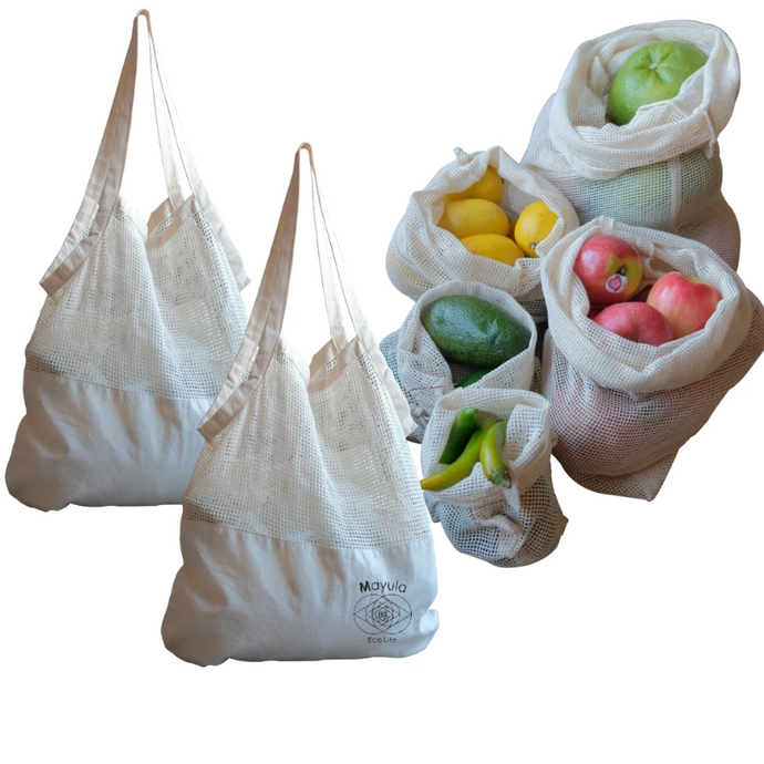SAVE 20%  Seven Eco Bags
