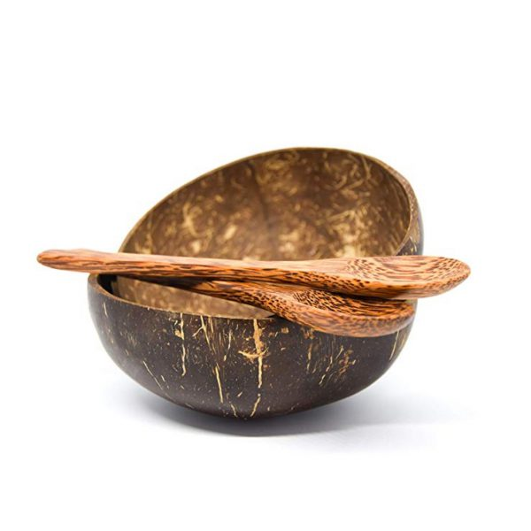 PRE-ORDER  (End of February) Coconut Bowl and Coconut Spoon
