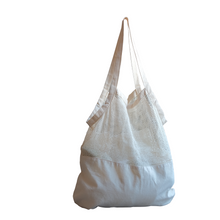 Load image into Gallery viewer, organic tote mesh bag