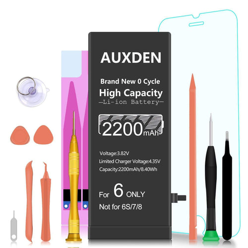 AUXDEN iPhone 6 Battery  2200mAh High Capacity with Repair Tools