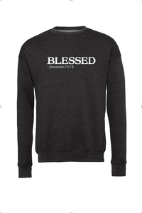 Blessed: Adult Unisex Fleece Drop-Shoulder Sweatshirt