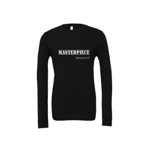 Masterpiece: Adult Unisex Cotton Long Sleeve