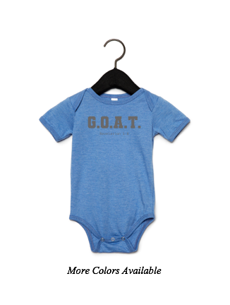 G.O.A.T.: Baby Short Sleeve One Piece