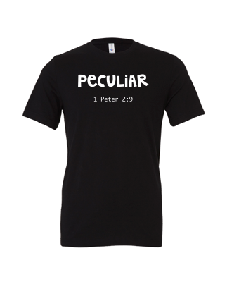 Peculiar: Adult Unisex Cotton Short Sleeve